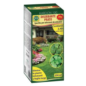 Diserbante Totale P.P.O. 2,4D 250 ml foglia larga